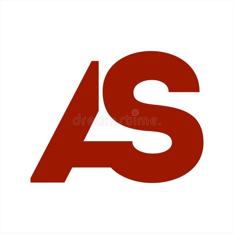 ΟΠΩΣ, λογότυπο και εικονίδιο επιχείρησης επιστολών αρχικών SA στοκ εικόνες με δικαίωμα ελεύθερης χρήσης