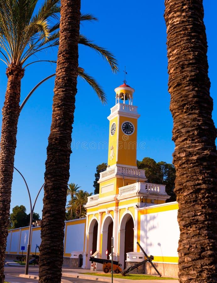 Οπλοστάσιο της Καρχηδόνας Murcia XVIII αιώνας Ισπανία στοκ φωτογραφίες