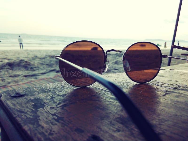 Ορίζοντας επιφυλακής Sunglass στοκ φωτογραφίες με δικαίωμα ελεύθερης χρήσης