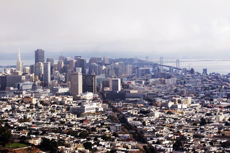Download ορίζοντας ΗΠΑ Καλιφόρνιας Francisco SAN Στοκ Εικόνες - εικόνα από ηλιόλουστος, θάλασσα: 1547306