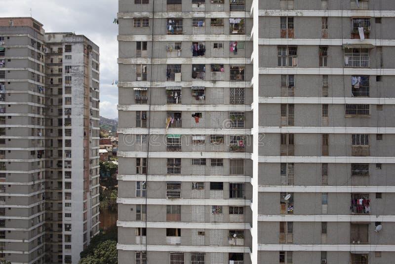 Ορίζοντας και κτήρια του Καράκας στοκ φωτογραφίες