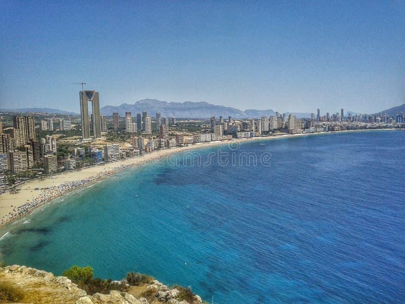Ορίζοντας και παραλία στοκ φωτογραφία με δικαίωμα ελεύθερης χρήσης