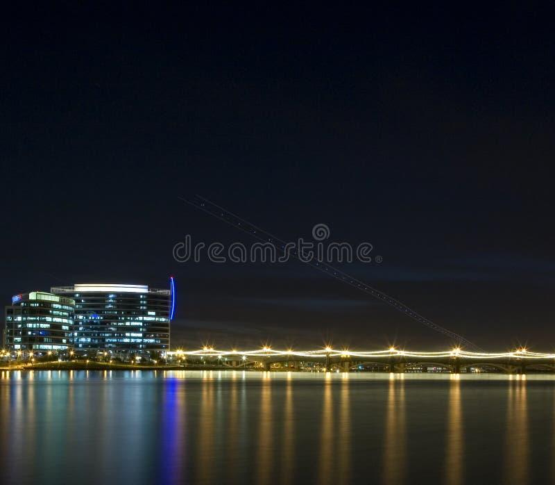 ορίζοντας νύχτας της Αριζόνα tempe στοκ φωτογραφίες με δικαίωμα ελεύθερης χρήσης