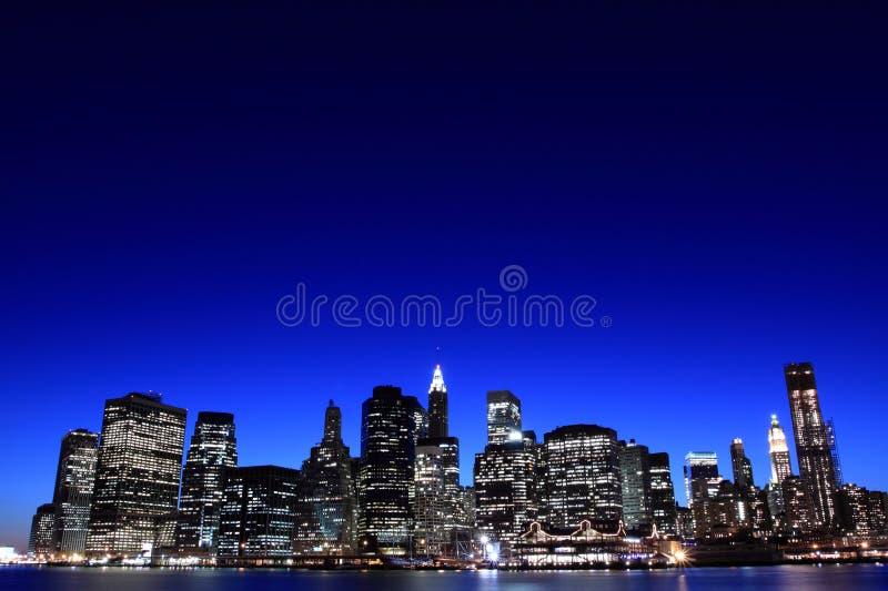 ορίζοντας νύχτας του Μανχ στοκ φωτογραφίες με δικαίωμα ελεύθερης χρήσης