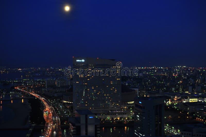 ορίζοντας νύχτας του Φο&upsil στοκ φωτογραφία με δικαίωμα ελεύθερης χρήσης