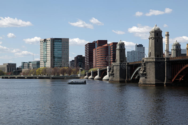 ορίζοντας πόλεων της Βοστώνης στοκ εικόνα με δικαίωμα ελεύθερης χρήσης