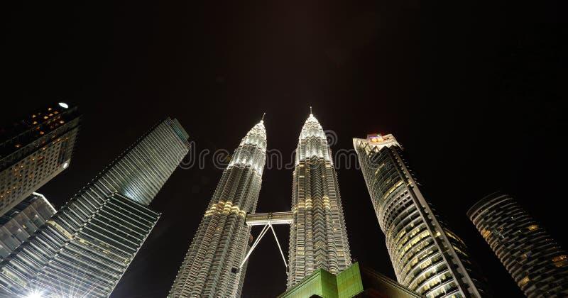 Ορίζοντας πόλεων της Κουάλα Λουμπούρ, Μαλαισία. Δίδυμοι πύργοι Petronas. στοκ φωτογραφίες με δικαίωμα ελεύθερης χρήσης