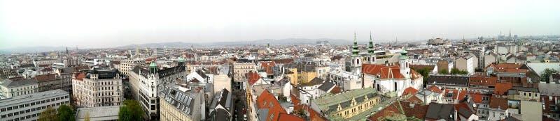 Ορίζοντας πόλεων της Βιέννης στοκ εικόνα