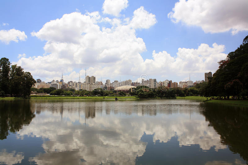 ορίζοντας Σάο του Paulo στοκ φωτογραφίες