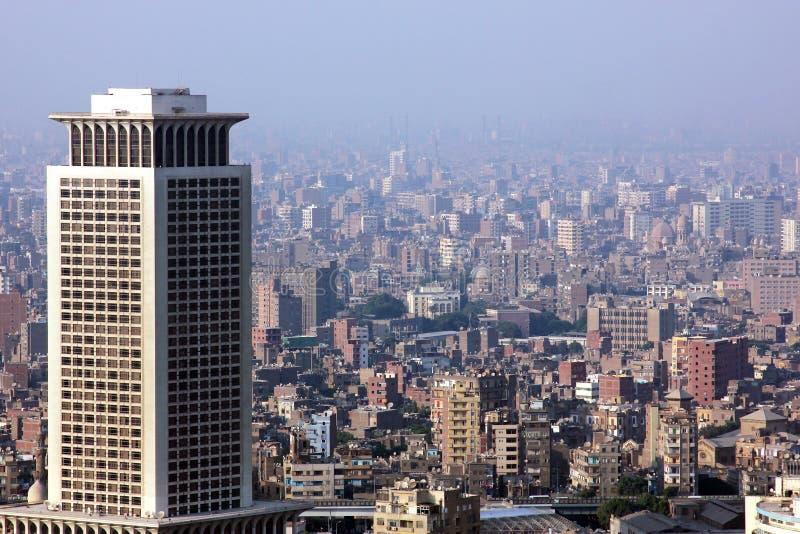 Ορίζοντας της Αιγύπτου Κάιρο στοκ εικόνα