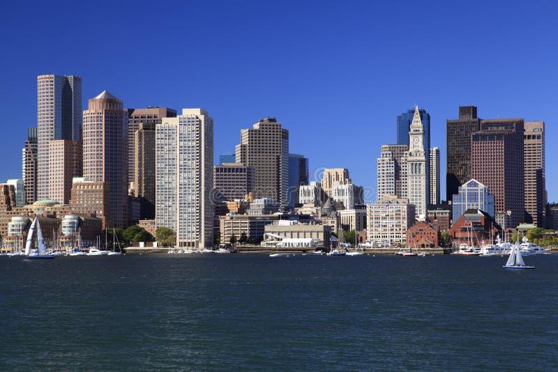 Ορίζοντας της Βοστώνης, ΗΠΑ στοκ εικόνα