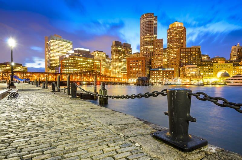 Ορίζοντας της Βοστώνης, Μασαχουσέτη στοκ φωτογραφίες