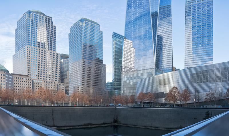 Ορίζοντας της Νέας Υόρκης manhatan στοκ εικόνες