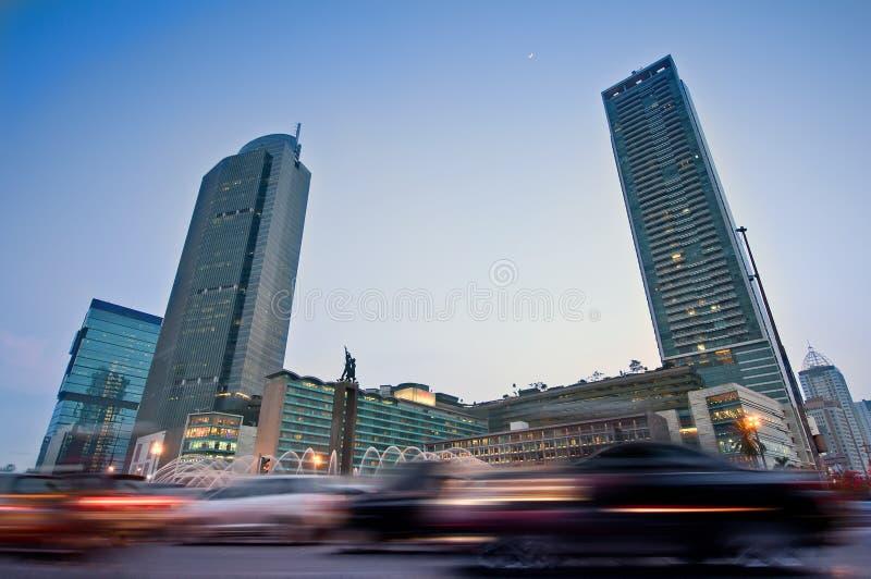 Κυκλοφορία της Τζακάρτα στοκ φωτογραφία με δικαίωμα ελεύθερης χρήσης