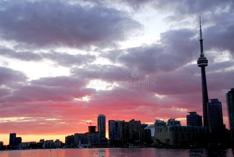 ορίζοντας Τορόντο πόλεων στοκ φωτογραφίες