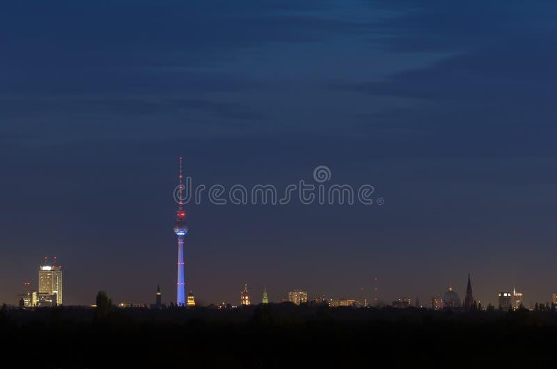 Ορίζοντας του Βερολίνου στοκ φωτογραφίες