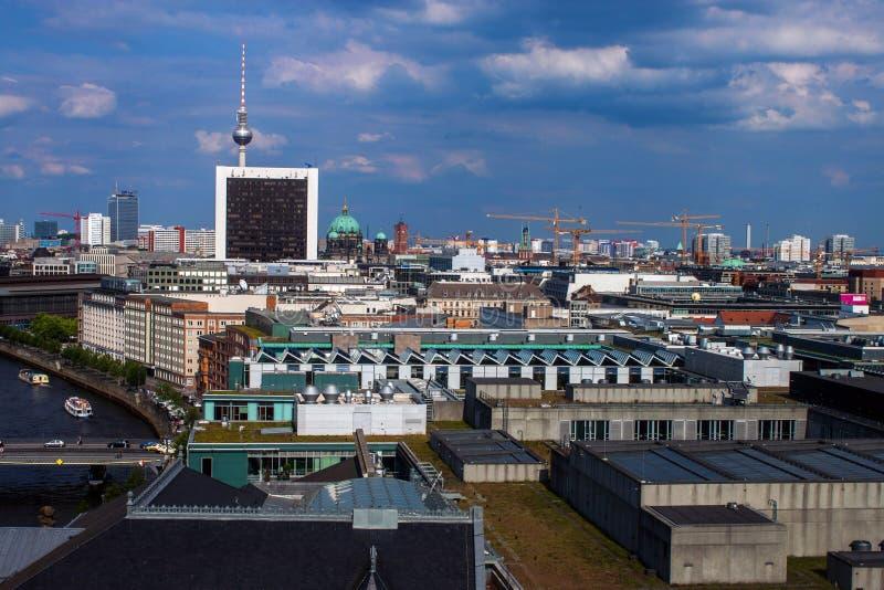 Ορίζοντας του Βερολίνου στοκ εικόνες