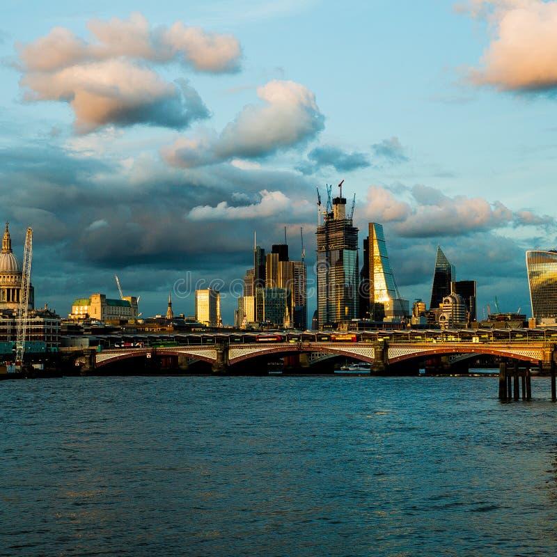 Ορίζοντας του Λονδίνου στοκ φωτογραφία