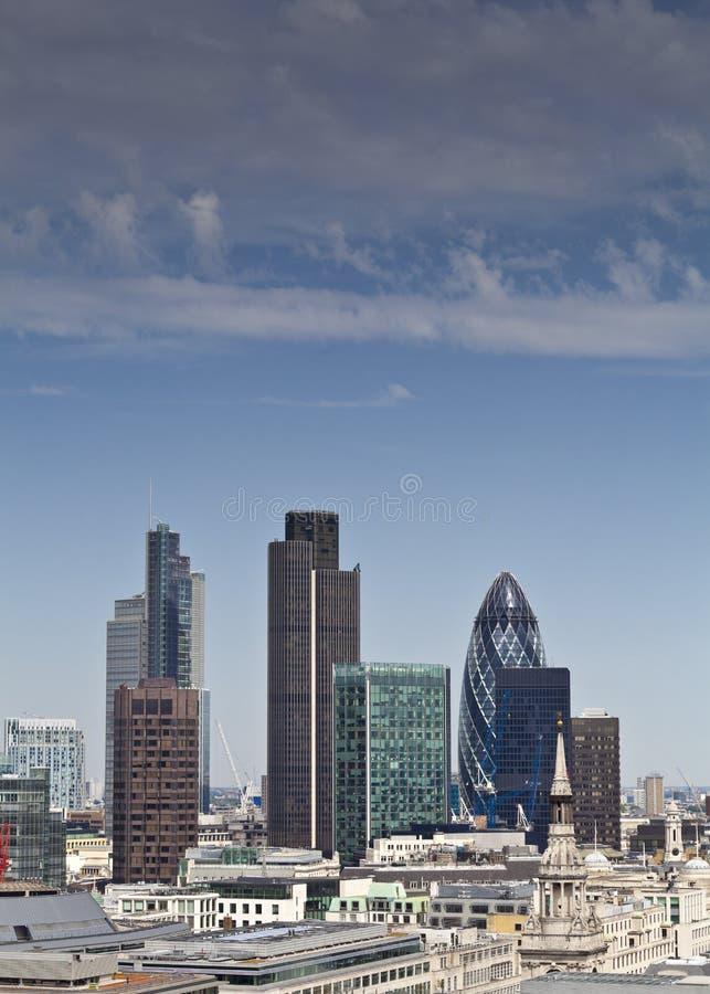 Ορίζοντας του Λονδίνου, UK στοκ εικόνες