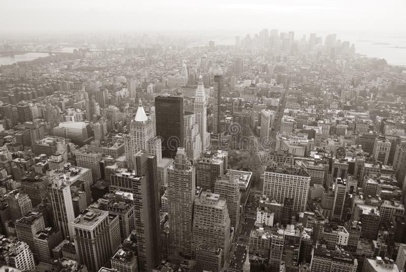 Ορίζοντας του Μανχάτταν πόλεων της Νέας Υόρκης στοκ εικόνες