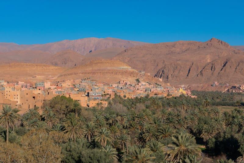Ορίζοντας του Μαρόκου Tinghir στοκ εικόνες με δικαίωμα ελεύθερης χρήσης