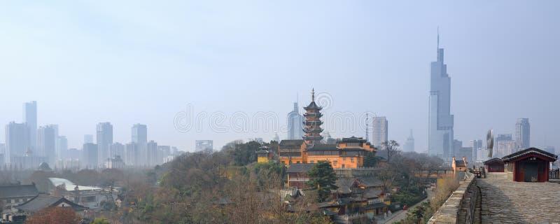 Ορίζοντας του Ναντζίνγκ, Κίνα στοκ εικόνες