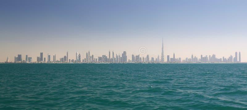 Ορίζοντας του Ντουμπάι (Ηνωμένα Αραβικά Εμιράτα) στοκ φωτογραφία με δικαίωμα ελεύθερης χρήσης