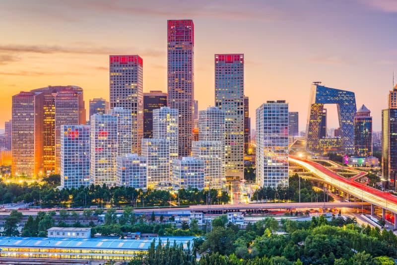Ορίζοντας του Πεκίνου, Κίνα στοκ φωτογραφίες