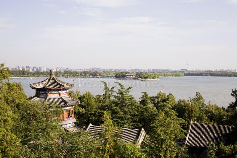 ορίζοντας του Πεκίνου στοκ φωτογραφία