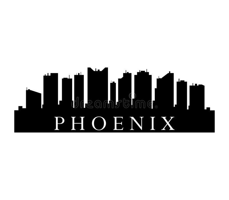 Ορίζοντας του Phoenix απεικόνιση αποθεμάτων