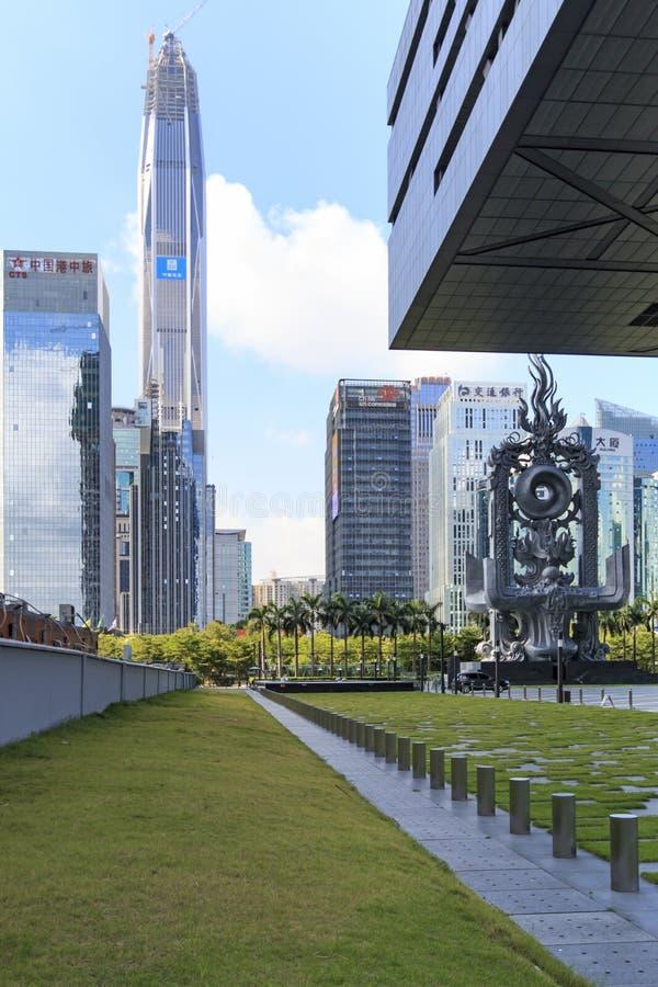 Ορίζοντας Shenzhen στοκ φωτογραφίες