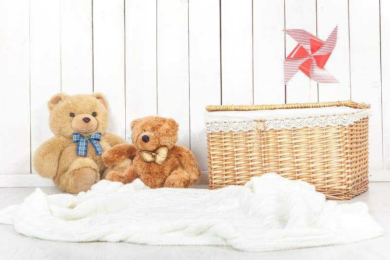 Οργάνωση υποβάθρου στούντιο φωτογραφίας μωρών στοκ φωτογραφία με δικαίωμα ελεύθερης χρήσης