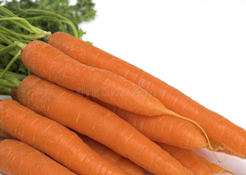 Οργανικά καρότα στοκ εικόνες