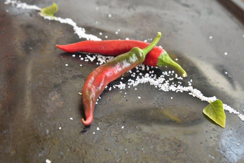 οργανικά πιπέρια στοκ φωτογραφίες