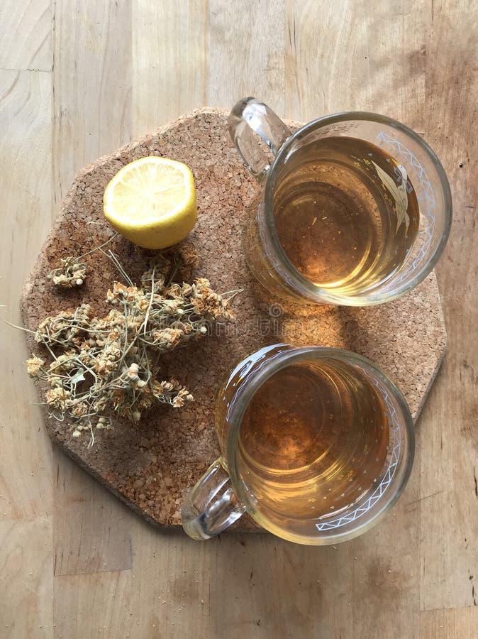Οργανικό βοτανικό τσάι στοκ εικόνες