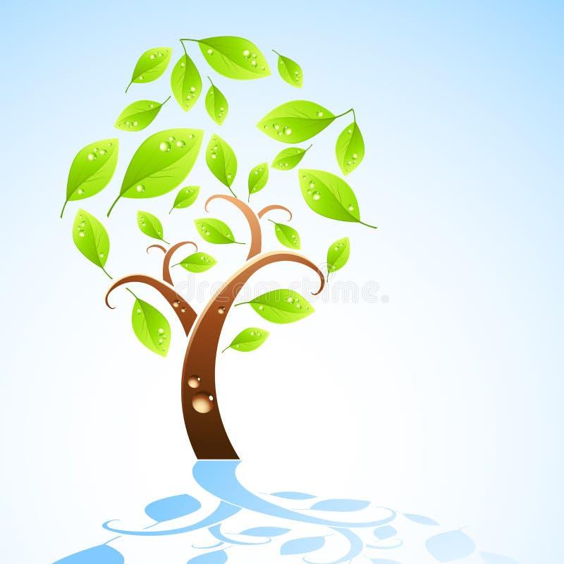 οργανικό δέντρο ελεύθερη απεικόνιση δικαιώματος