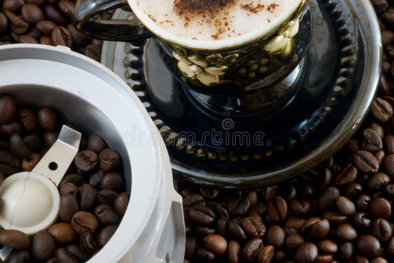 Οργανικό νόστιμο καλό αναζωογονώντας ποτό καφέ στοκ φωτογραφίες