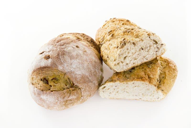 Οργανικό ψωμί στοκ φωτογραφίες