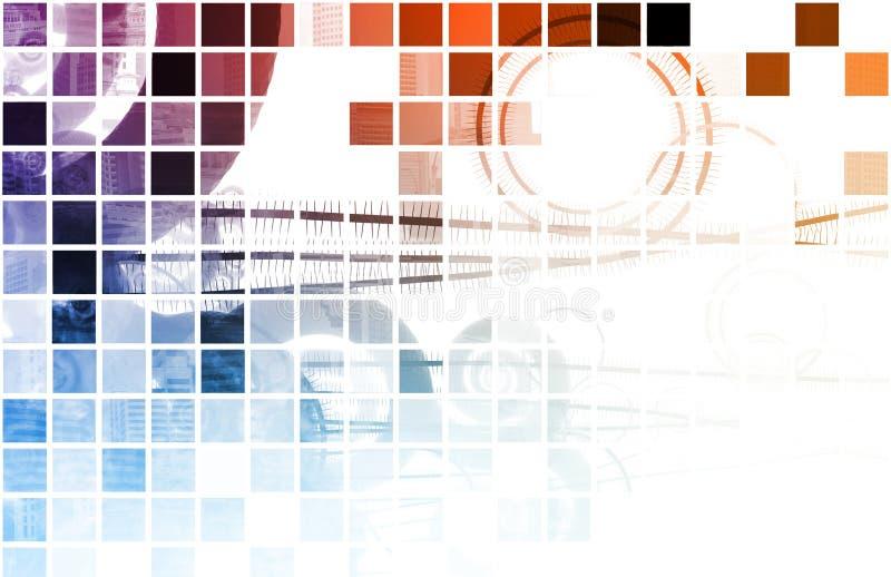 οργανικό techno διανυσματική απεικόνιση