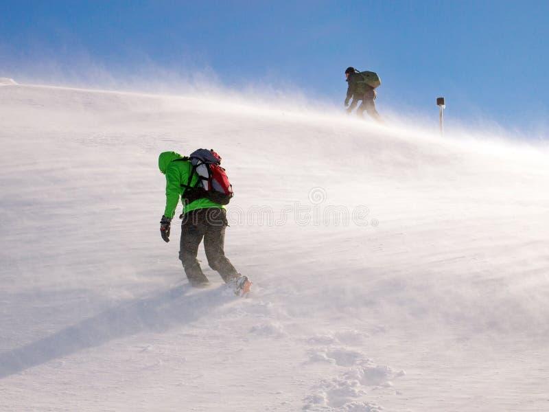 Ορειβάτες στον αέρα στοκ φωτογραφία με δικαίωμα ελεύθερης χρήσης