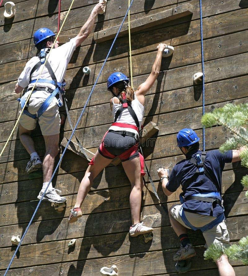 ορειβάτες τρία στοκ φωτογραφίες με δικαίωμα ελεύθερης χρήσης