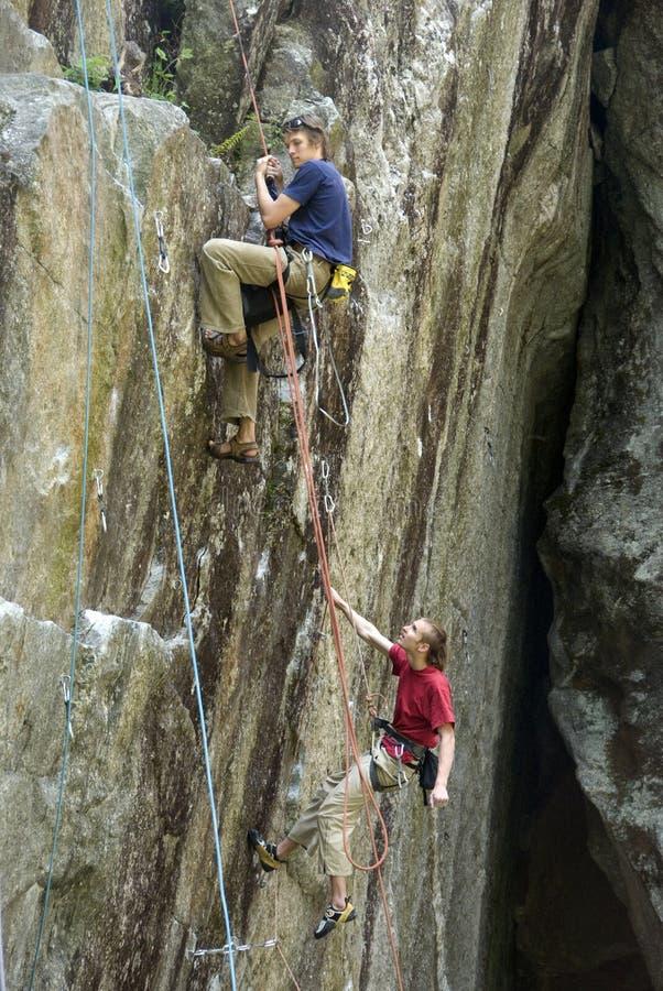 ορειβάτες στοκ φωτογραφία