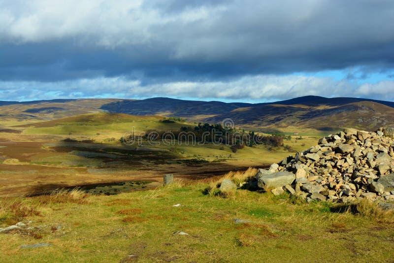 ορεινές περιοχές σκωτσέ&zeta στοκ φωτογραφία με δικαίωμα ελεύθερης χρήσης