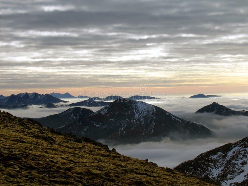 ορεινές περιοχές σκωτσέ&zeta στοκ φωτογραφίες