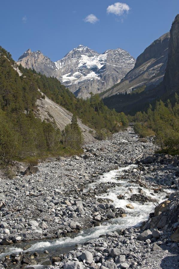 ορεινός όγκος Ελβετία BL emlisalp στοκ φωτογραφίες