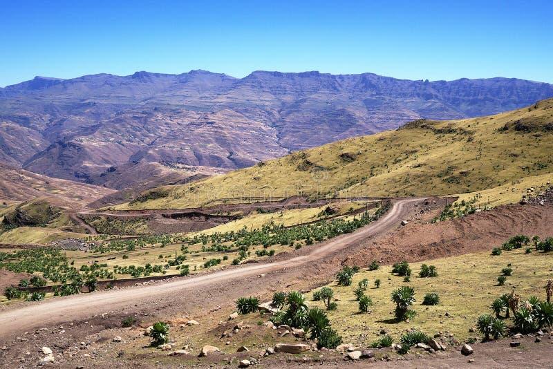 Ορεινός όγκος Dashen Ras στοκ εικόνες