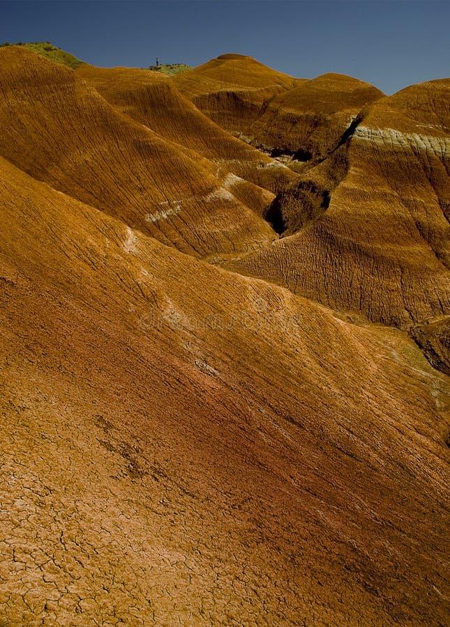 ορεινό κόκκινο τοπίων στοκ εικόνες