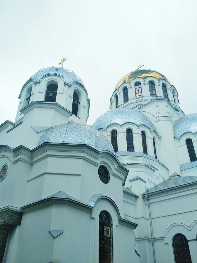 Ορθόδοξη Εκκλησία, kamenets-Podolsky, Ουκρανία στοκ εικόνα