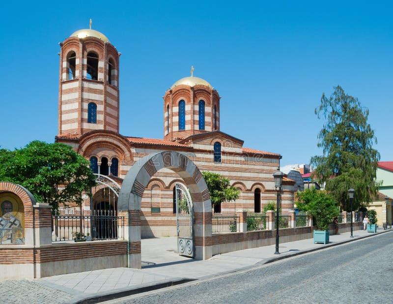 Ορθόδοξη Εκκλησία του ST Nicholas στοκ εικόνα