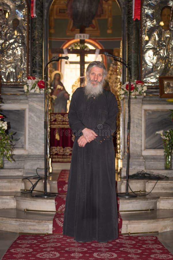 ορθόδοξος ιερέας στοκ φωτογραφίες